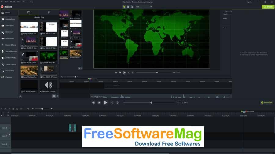 camtasia 2019 free templates