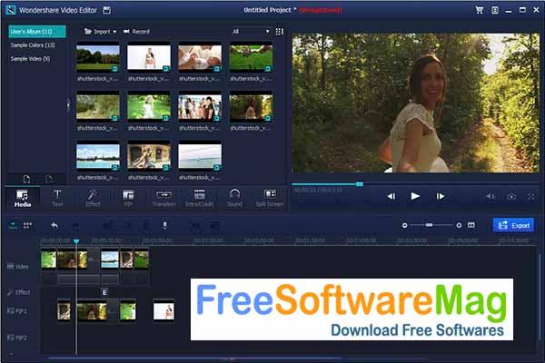 wondershare filmora 9 free download without watermark
