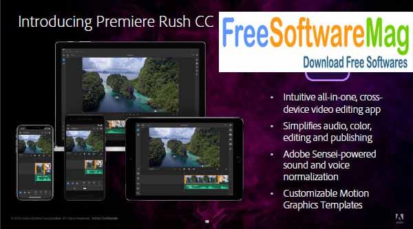 Adobe Premiere Rush CC 2021 Direct Link Download