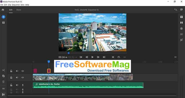 Adobe Premiere Rush CC 2021 Offline Installer Download