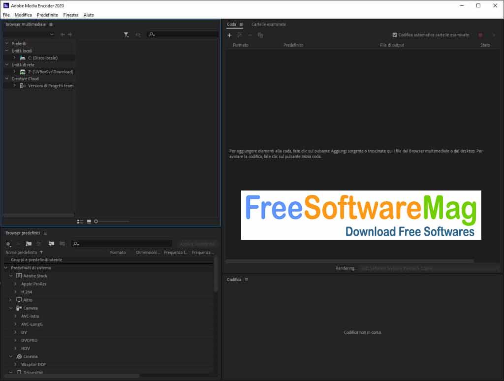 Latest Version Adobe Media Encoder CC 2020