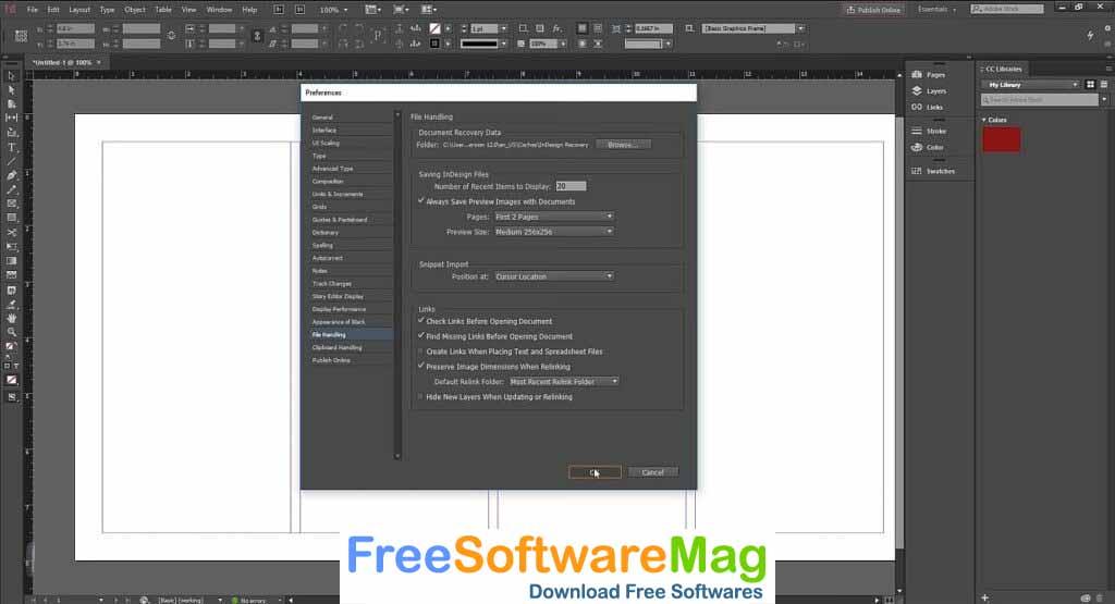 adobe indesign cc 2020 software free download