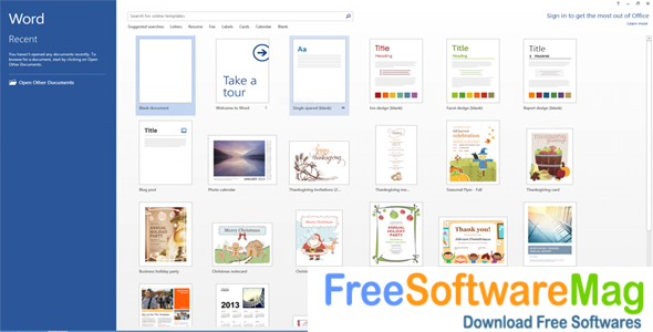 Microsoft Office 2013 free download full version for windows 7